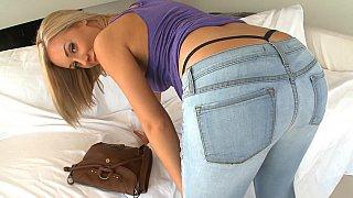 Super hot blonde Nicole Aniston taking big cock