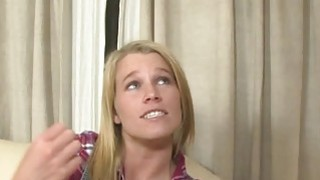 Pretty blondes with big boobs, Aiden Aspen and Jordan Kingsley, get down for