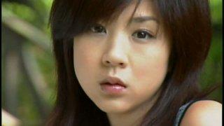 Tasty looking girl Aki Hoshino erotic photo session