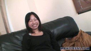 Ugly Japanese babe Rei Iwamoto desires to get poked