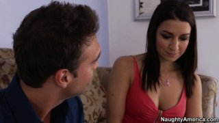 Brunette Ann Marie Rios wants to buy a new apartment