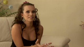 Provocative hoe Bailey Brooks gets hammered hard in a doggy position